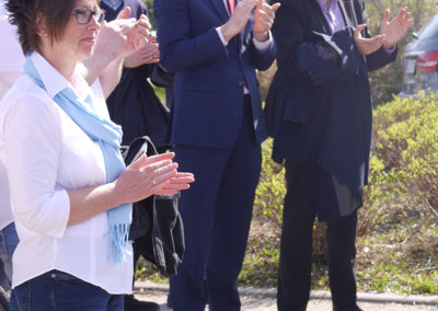 Freudentaler Gewerbeschau - Eröffnung durch Bürgermeister Fleig