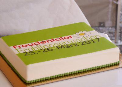 """Die """"Gewerbeschau""""-Torte von Zuckerbäckerei Rebekka"""