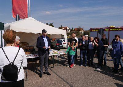 Eröffnung durch Bürgermeister Fleig