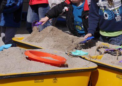 Sandkasten bei EHT Bauunternehmung GmbH