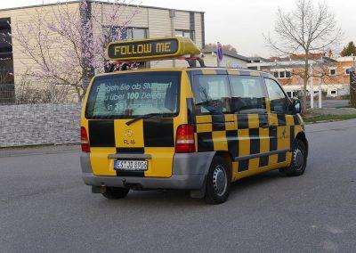 Follow Me Fahrzeug