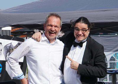 Chaos-Butler und Magier Theo Steichele
