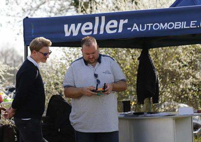 Norman Delucheux startet seine Drohne